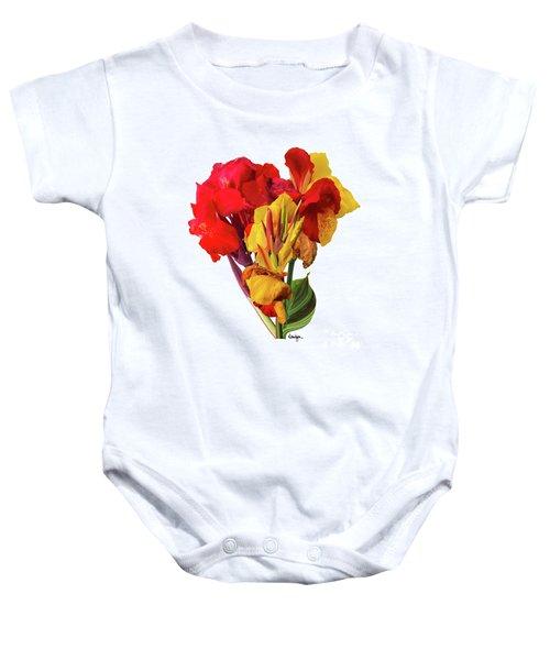Tropical Bouquet Baby Onesie