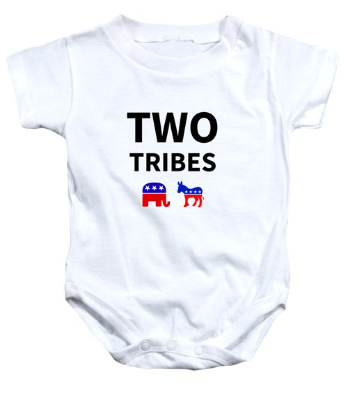 Two Tribes Baby Onesie