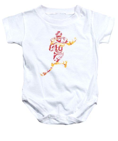 Tyreek Hill Kansas City Chiefs Apparel T Shirt Pixel Art 1 Baby Onesie