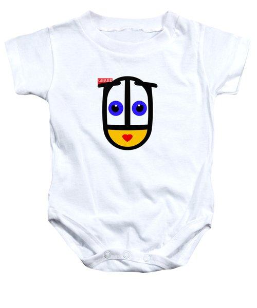 uBABE Face Baby Onesie