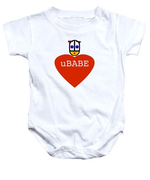 uBABE Love Baby Onesie