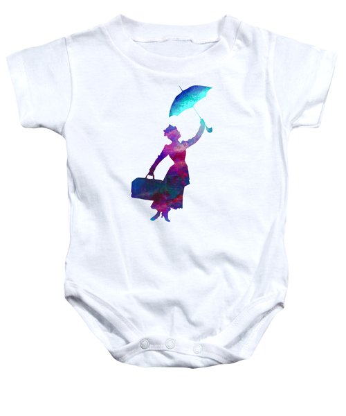 Umbrella Lady Baby Onesie