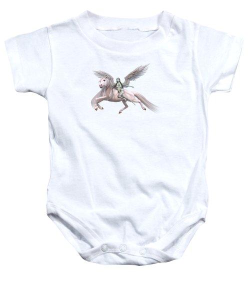 Valkyrie Angel Baby Onesie