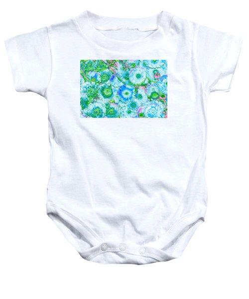 Van Gogh's Garden Baby Onesie
