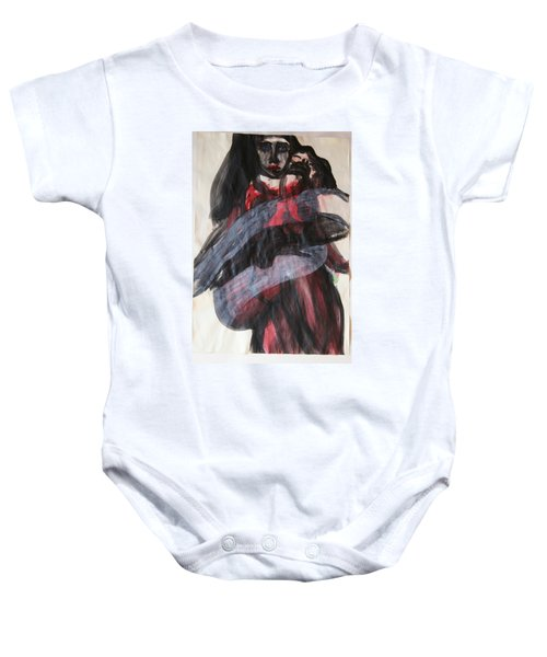 Waiting For The Cross Baby Onesie