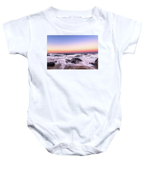 Wave Action Baby Onesie