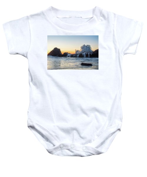 Wave Burst Baby Onesie