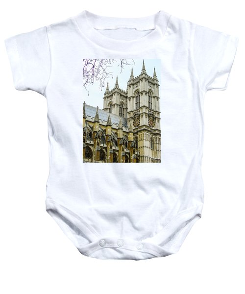 Westminster Abbey Baby Onesie