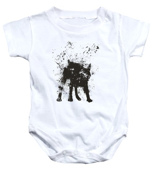 Wet Dog Baby Onesie