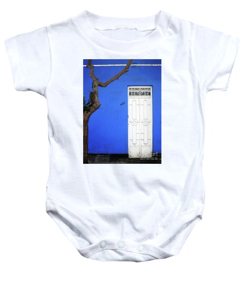 When A Tree Comes Knocking Baby Onesie