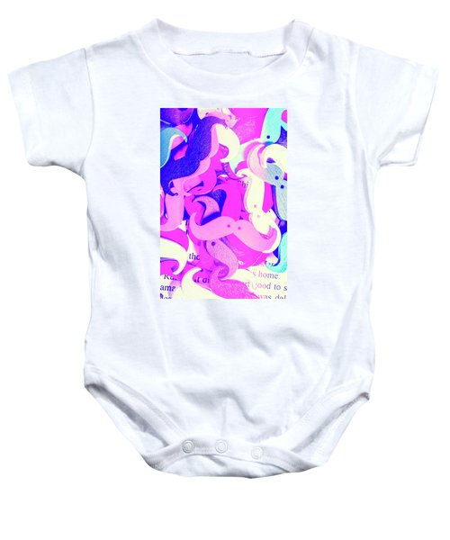 Whiskers And Words Baby Onesie