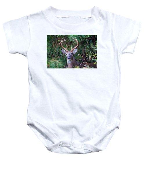 Whitetail Deer Baby Onesie