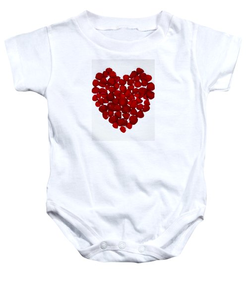 With All My Hearts 2 Baby Onesie
