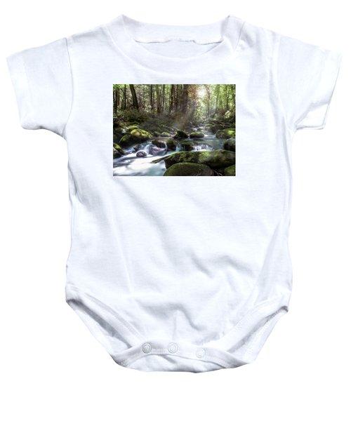 Woodland Falls Baby Onesie