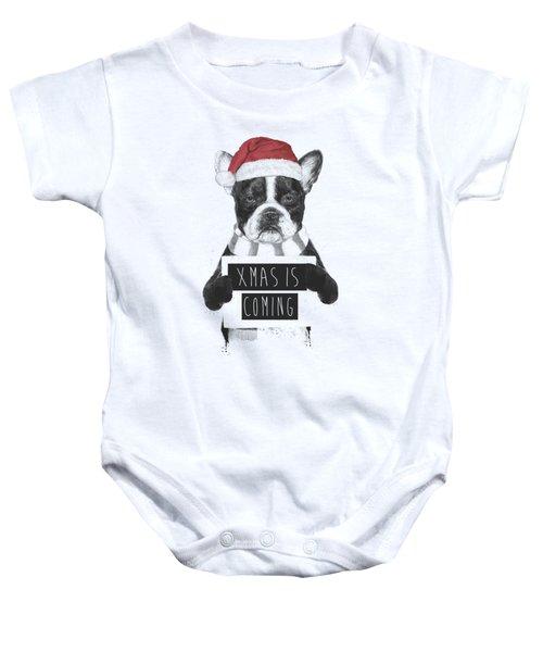 Xmas Is Coming Baby Onesie