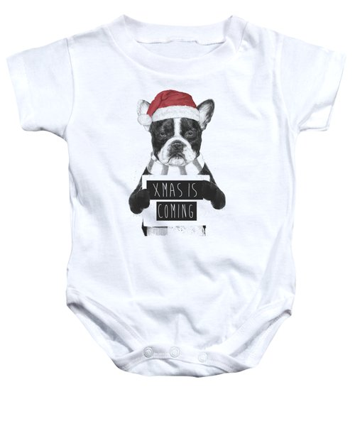 Xmas Is Coming Baby Onesie