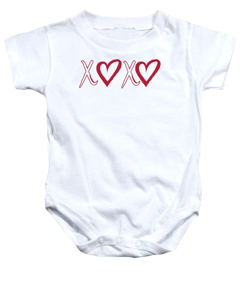 Xoxo, Hugs And Kisses, Baby Onesie