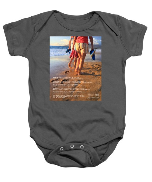 Always Ourselves We Find In The Sea Baby Onesie
