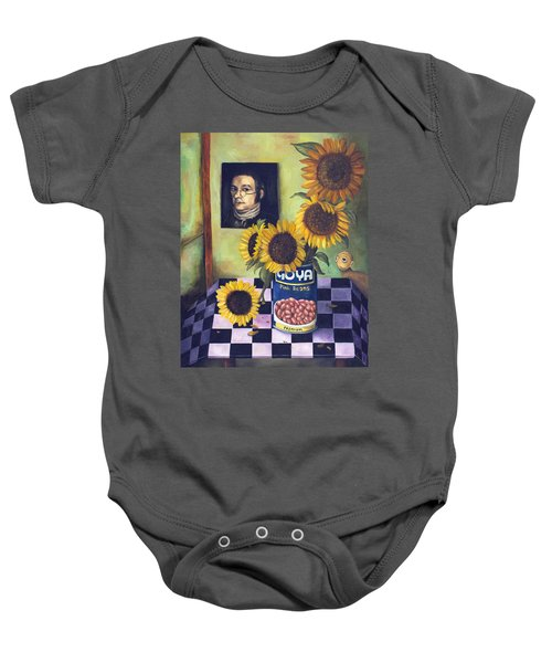 Goyas Baby Onesie by Leah Saulnier The Painting Maniac