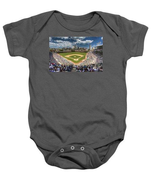 0234 Wrigley Field Baby Onesie
