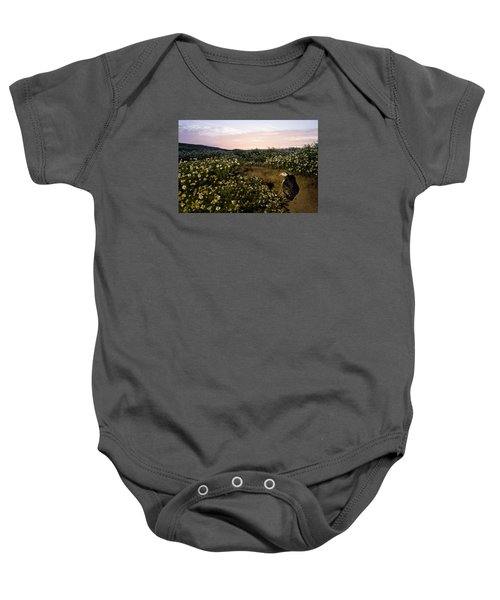 Atlantic Puffin At Burrow Skomer Island Baby Onesie