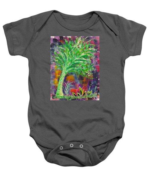 Celery Tree Baby Onesie