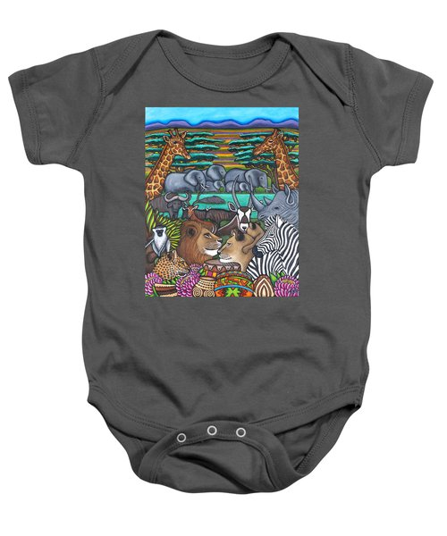 Colours Of Africa Baby Onesie