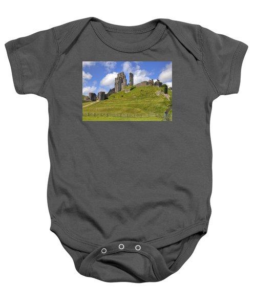 Corfe Castle Baby Onesie