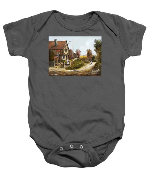 Cropthorne - Worcester Baby Onesie