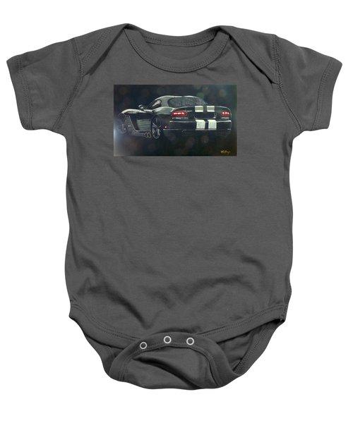 Dodge Viper 2 Baby Onesie