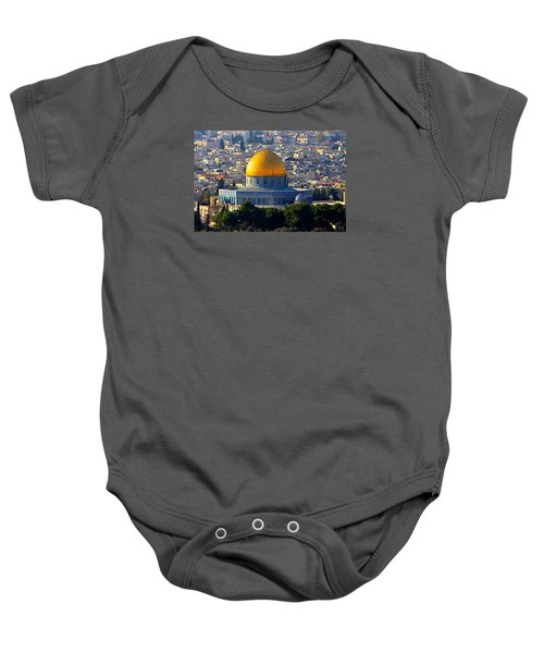 Dome Of The Rock Baby Onesie