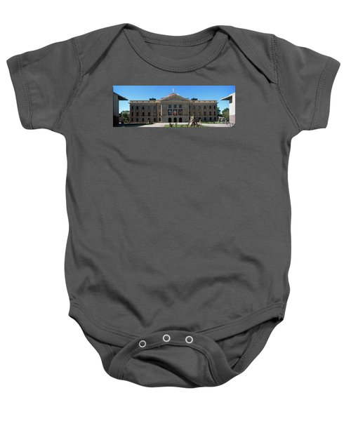 Facade Of The Arizona State Capitol Baby Onesie