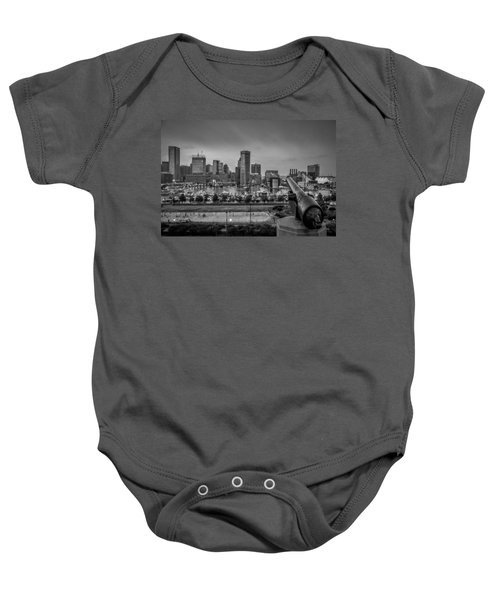 Federal Hill In Baltimore Maryland Baby Onesie