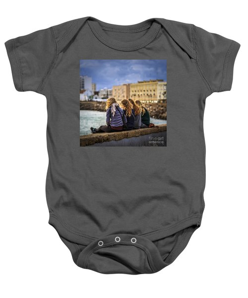 Foreign Students Cadiz Spain Baby Onesie
