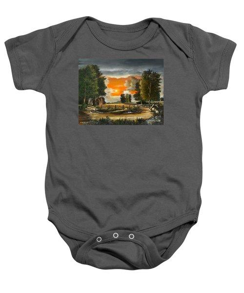 Hoggets Farm Baby Onesie