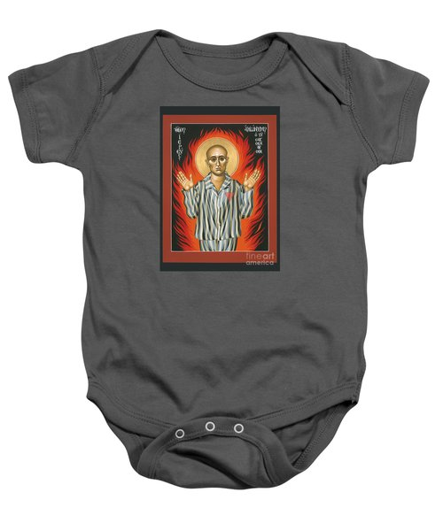 Holy Priest Anonymous One Of Sachsenhausen 013 Baby Onesie