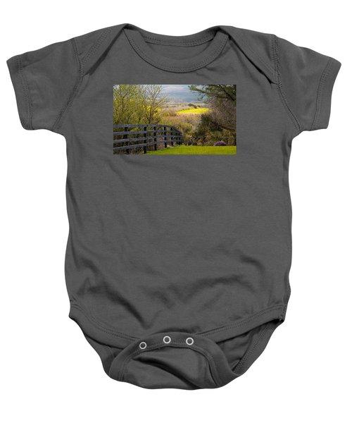 Irish Countryside In Spring Baby Onesie