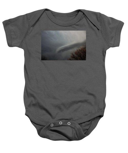 Let The Storm Season Begin Baby Onesie