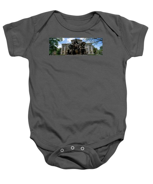 Low Angle View Of Statue Baby Onesie