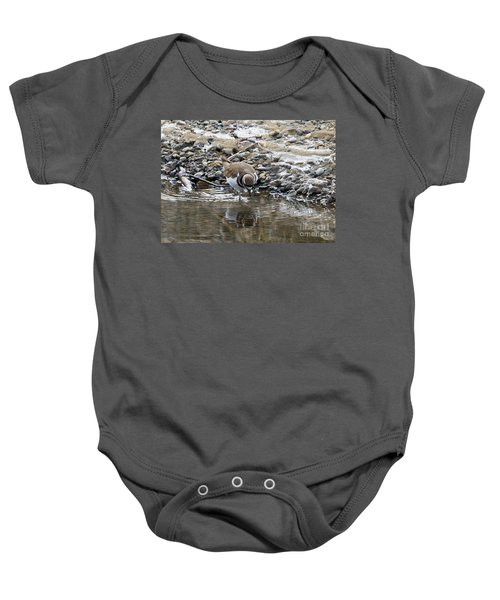 Mirror Mirror Baby Onesie by Mike Dawson