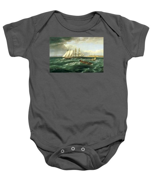 Mouth Of The Delaware Baby Onesie