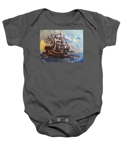 My Ship Baby Onesie