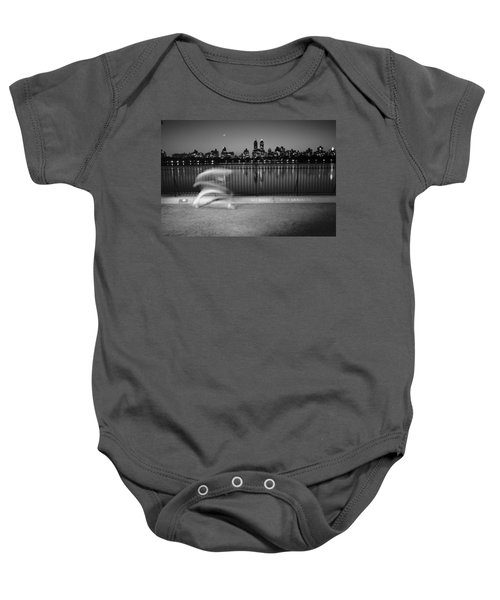 Night Jogger Central Park Baby Onesie