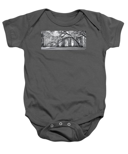 Old Sheldon Church - Side View Baby Onesie