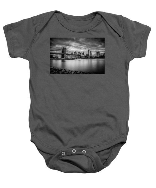 Royal Noir Baby Onesie