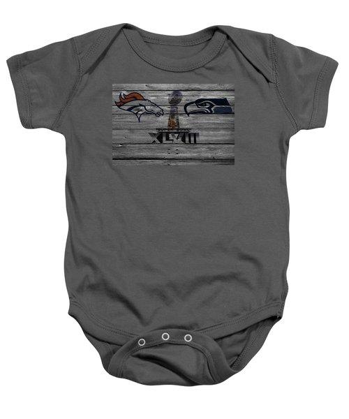 Super Bowl Xlviii Baby Onesie