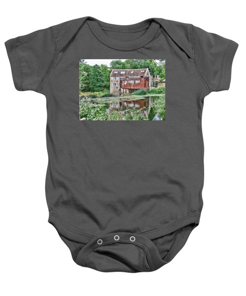 The Old Mill Avoncliff Baby Onesie