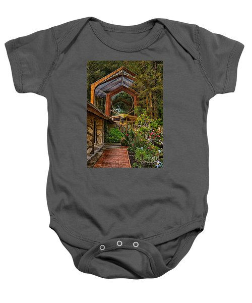 The Wayfarers Chapel Baby Onesie