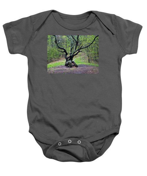 Tree In The Forest Baby Onesie