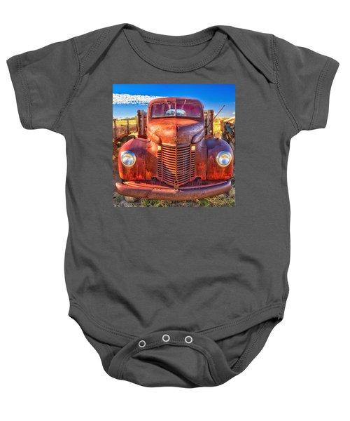 International Rust Baby Onesie